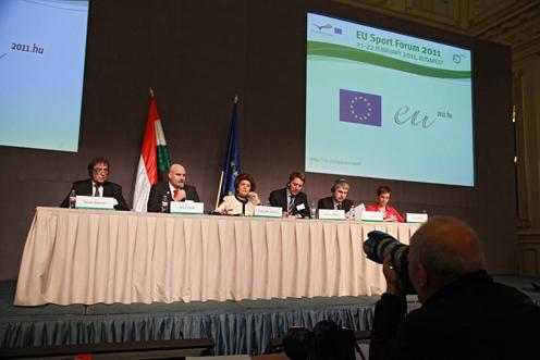 EU Sport Forum 2011