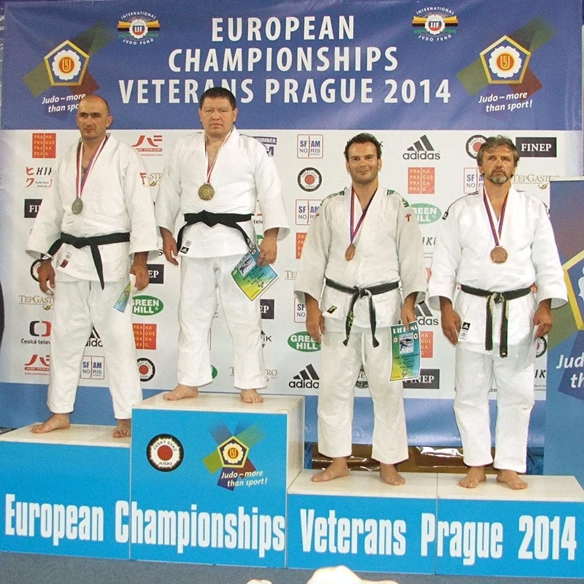 Horváth Tamás Masters EB bronzérmes