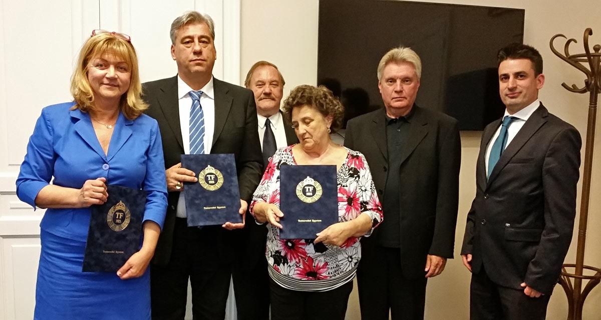 TE-OSEI-GenePointPlus együttműködési megállapodás