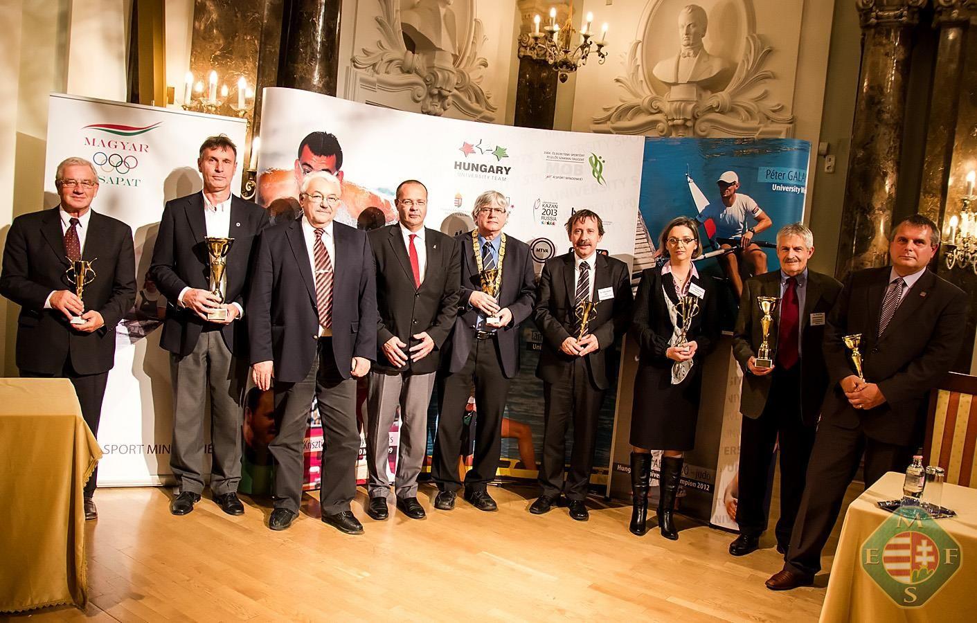 A 2013-as év legjobb egyetemi sportolóit ünnepelték