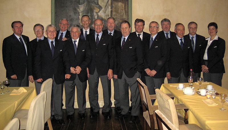Az  Európai Úszó Szövetség Úszó Szakbizottsága (Antwerpen, 2010)