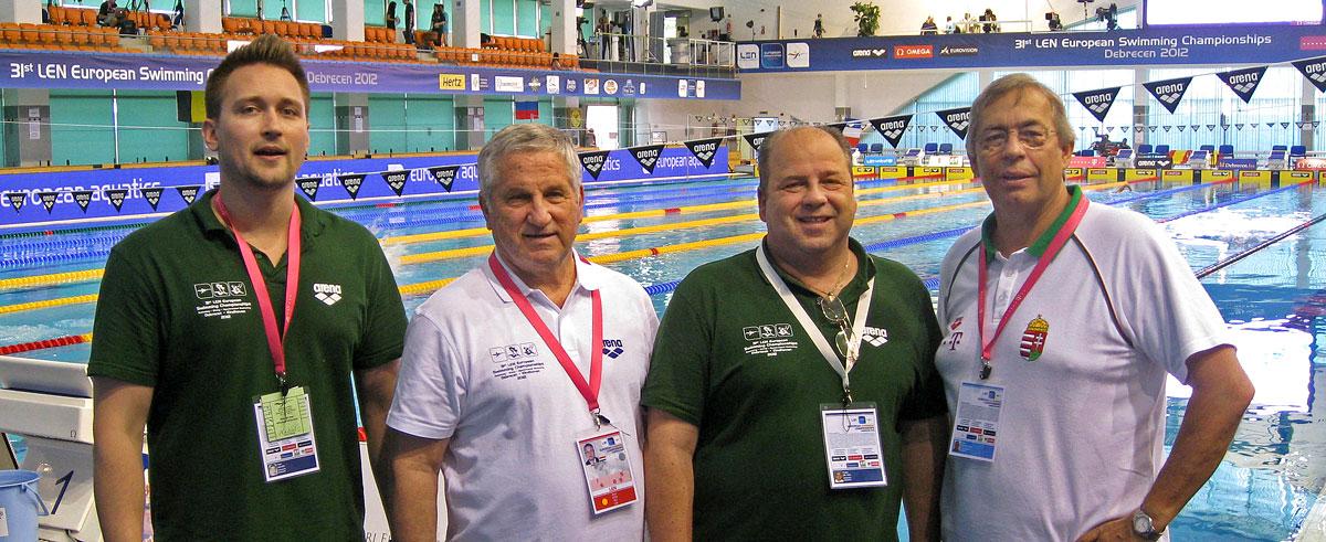 Az Úszás Tanszék a 2012-es EB-n