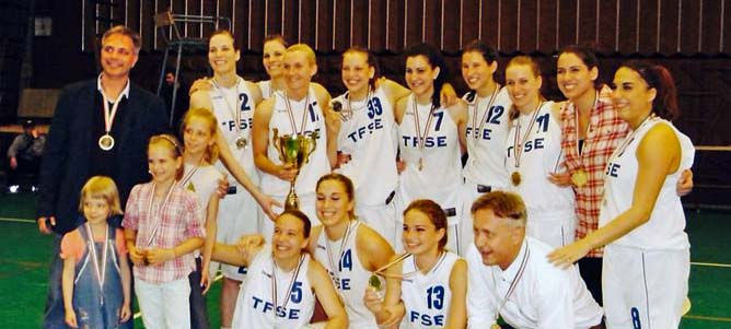 Bajnok a TFSE női kosárcsapata!