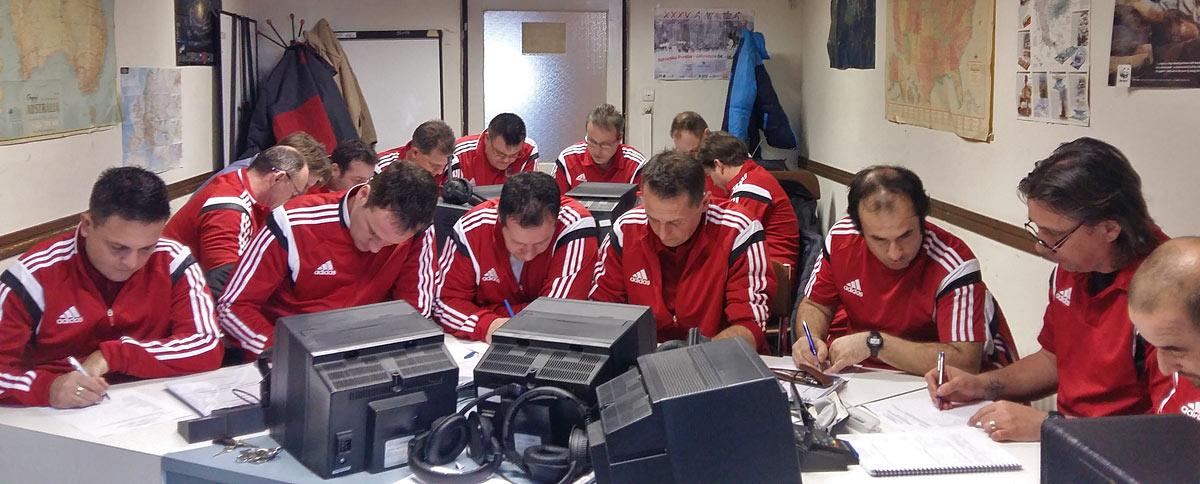 Befejeződött az UEFA ELITE 'A' labdarúgó edzőképző tanfolyam szaknyelvi modulja a TF-en.