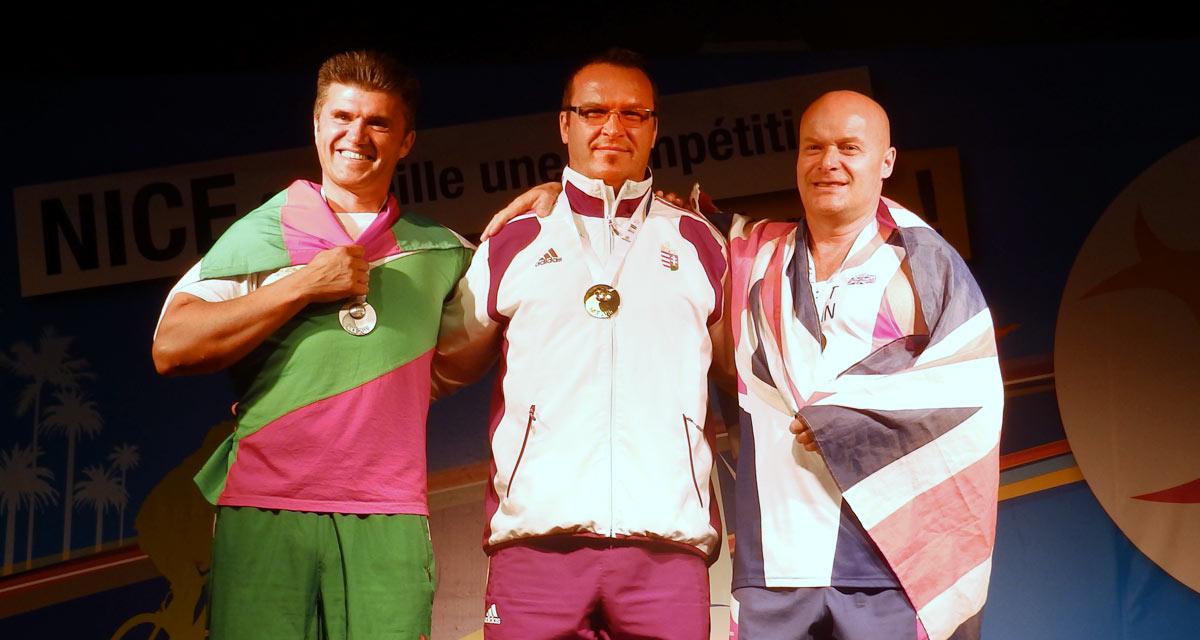 Benczenleitner Ottó aranyérmes