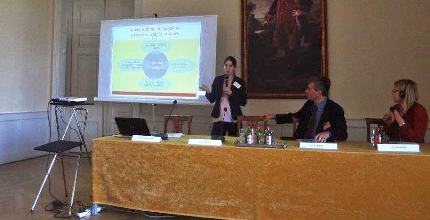 """Beszámoló a """"Sport, politika és történelem"""" nemzetközi konferenciáról"""