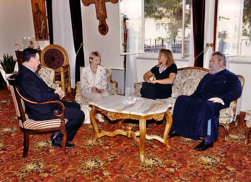 Találkozás a Ciprusi Görög-katolikus Egyházfővel