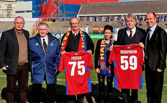 Dr. Genzwein Ferenc kancellár úr a Vasas tiszteletbeli elnöke lett