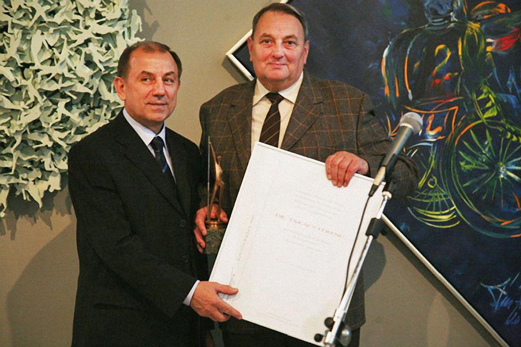 Takács Ferenc kapta a 2011-es Ezüstgerely életműdíjat