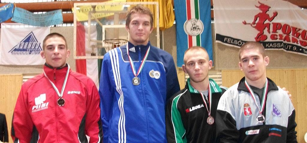 Farkas Gábor (szabadfogású birkózás, U23 OB, 2011, Miskolc)