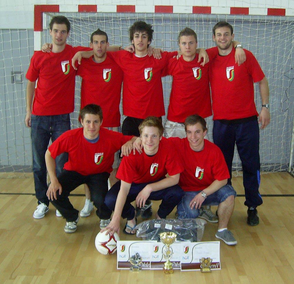 Futsal Selye Cup 2011, a győztes csapat (hírek)
