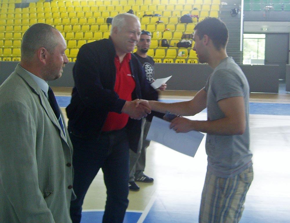 Futsal Selye Cup 2011, Komoróczi Bálint gólkirály (hírek)