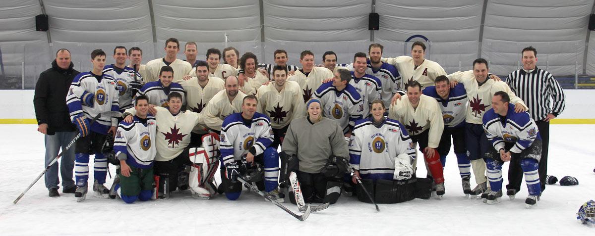 Győzelem az Oxfordi Egyetem jégkorongcsapata ellen