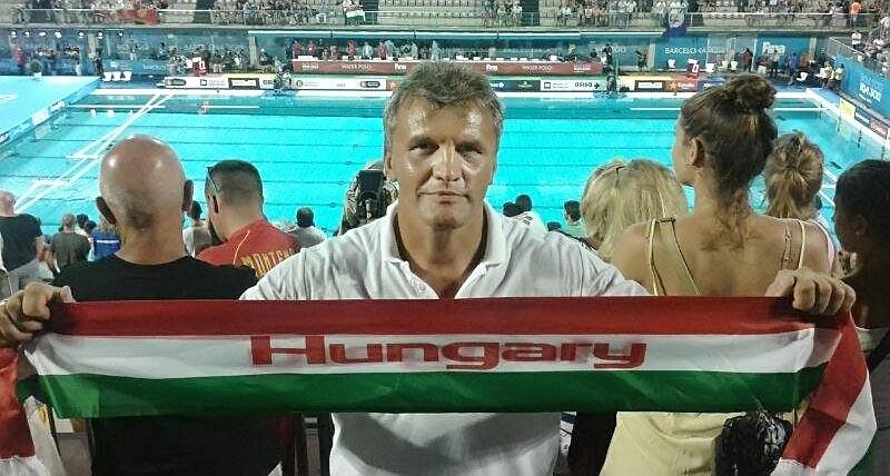 Horváth Tamás a világbajnok pólóválogatott erőnléti edzője