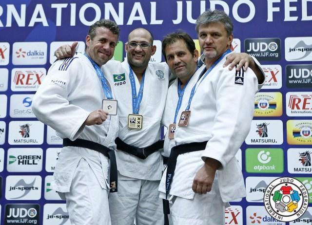 Horváth Tamás bronzérmes (Masters Judo, 2015)
