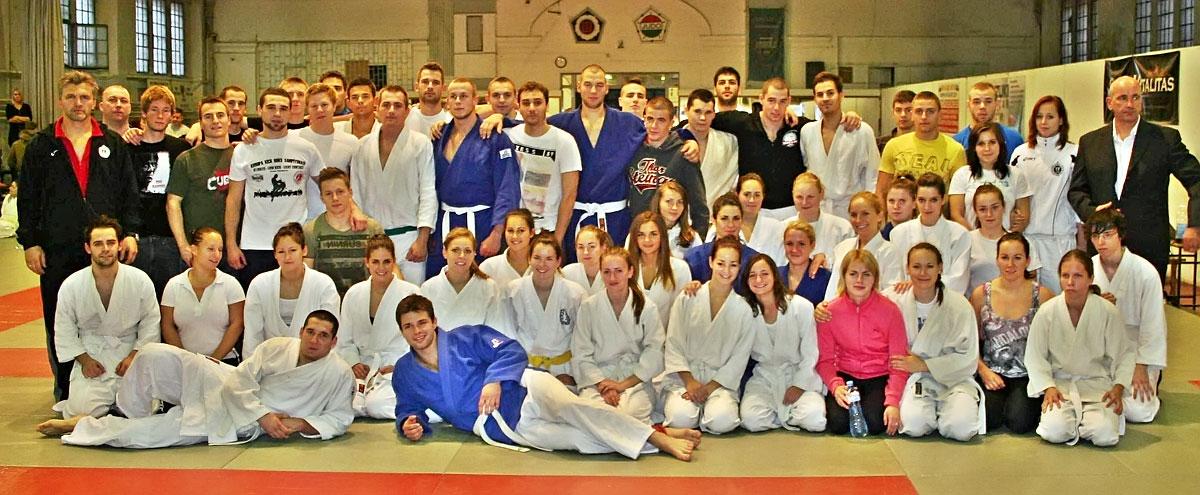 TF judo csapat (1. hely, MEFOB, 2012)