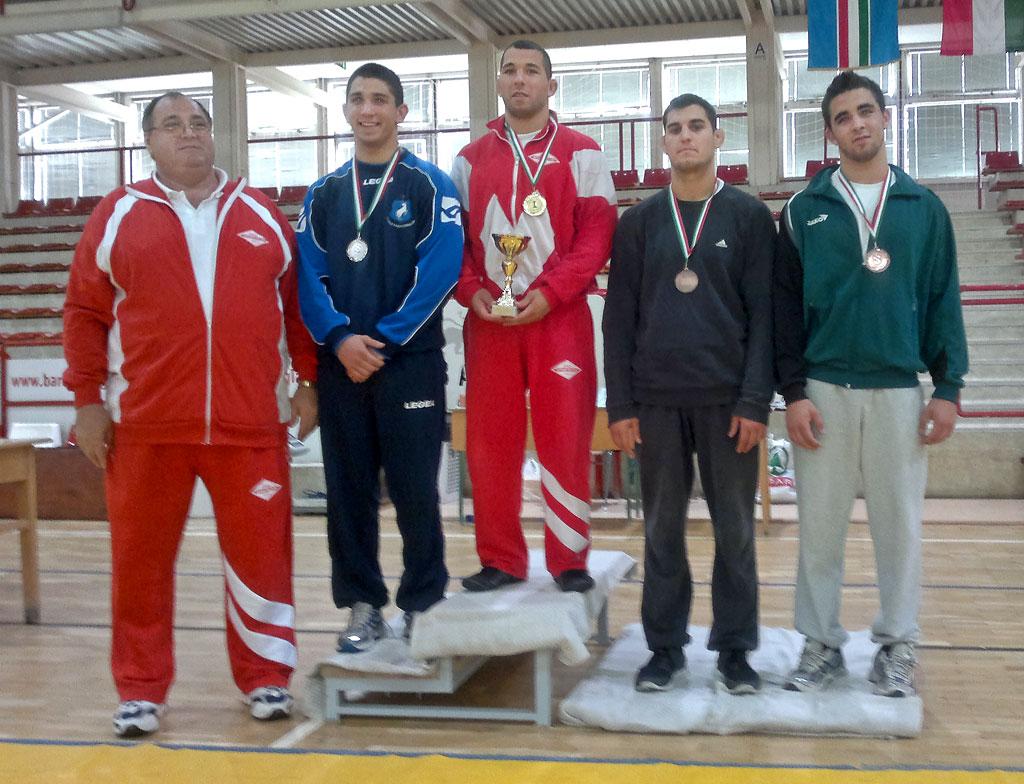 Kányási Sándor (U23, 84kg, 3. hely)