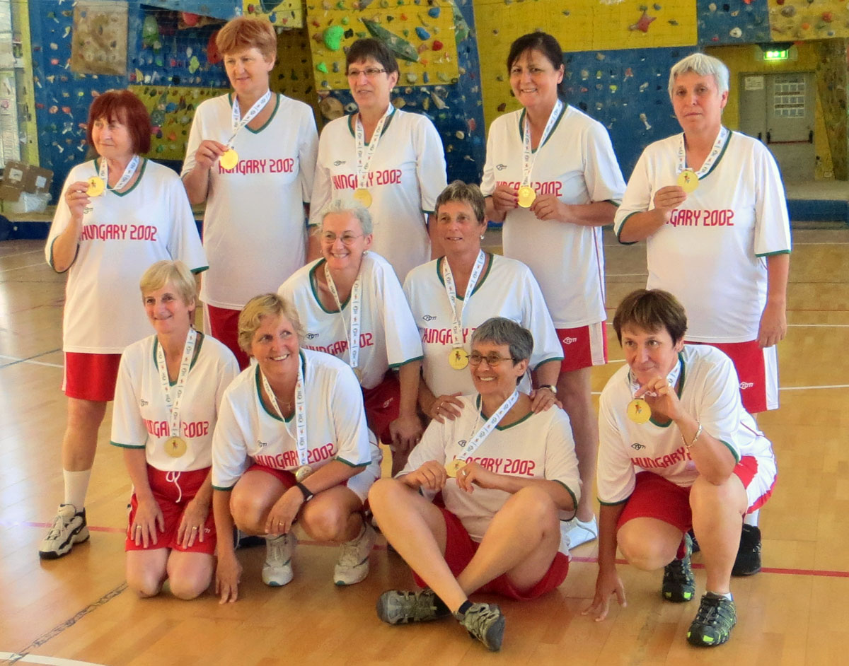 Kosársiker a World Masters Games-en