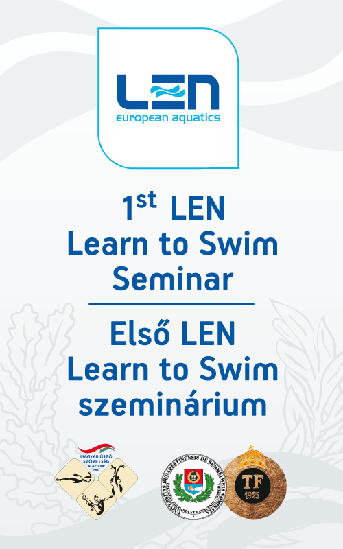 LEN 1st Learn to Swim Seminar (poster)