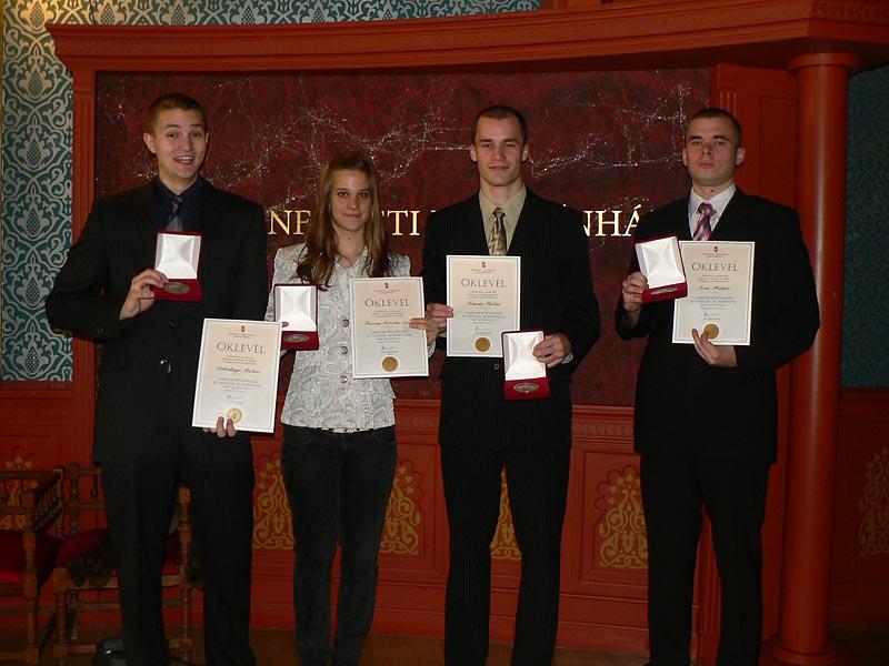 A Magyar Köztársaság jó tanulója-jó sportolója 2008/2009