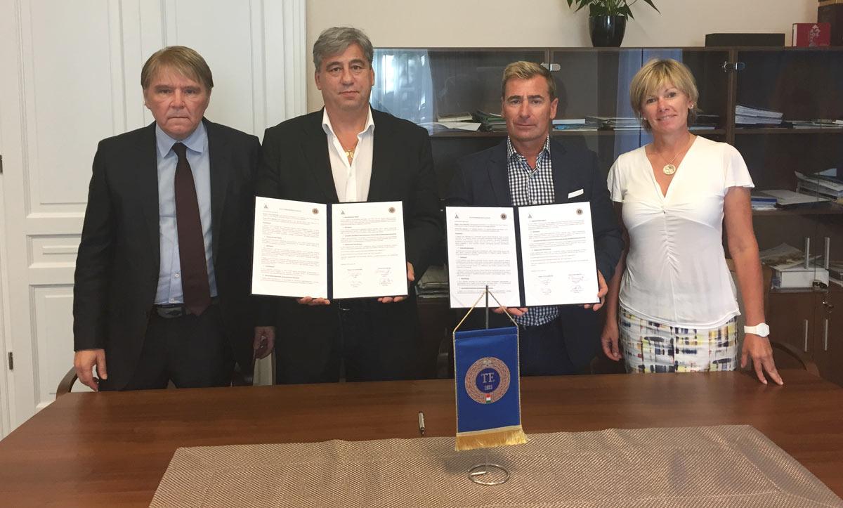 Együttműködési megállapodás a Magyar Lovas Szövetséggel