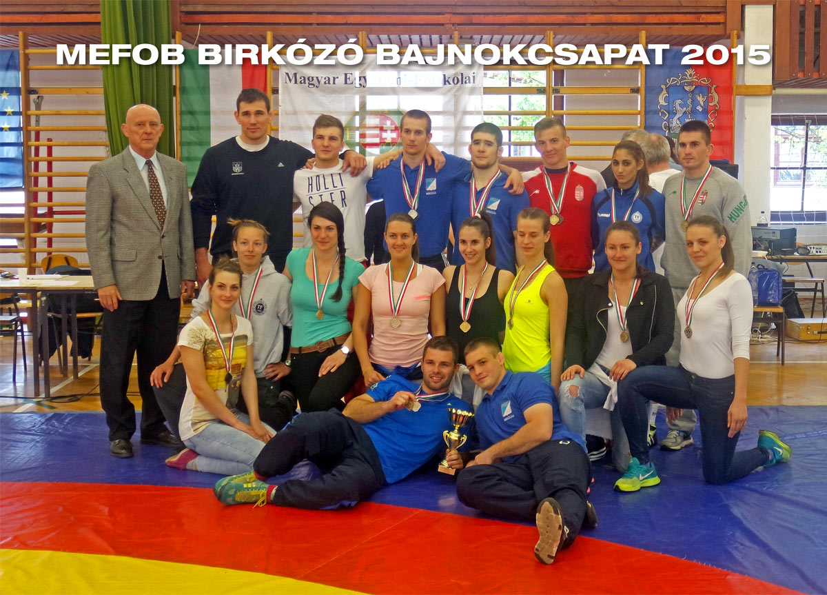 MEFOB birkózó bajnokcsapat 2015