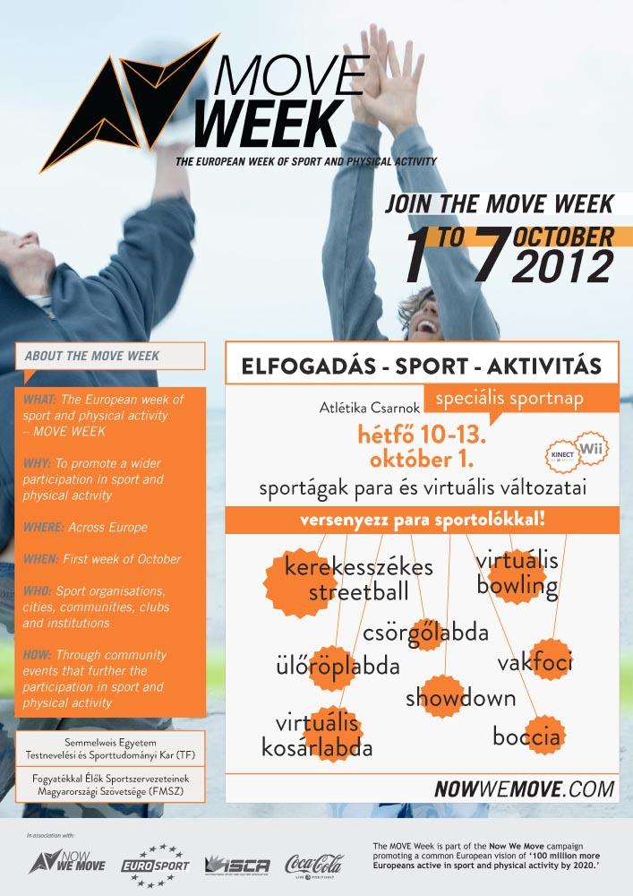 Move Week plakát