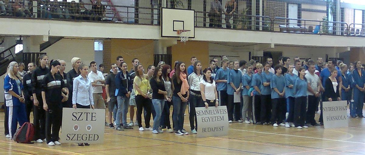 Sportszakos Hallgatók Sporttalálkozója 2012