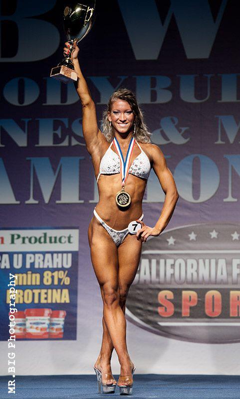 Szabó Melinda IFBB fitness világbajnok