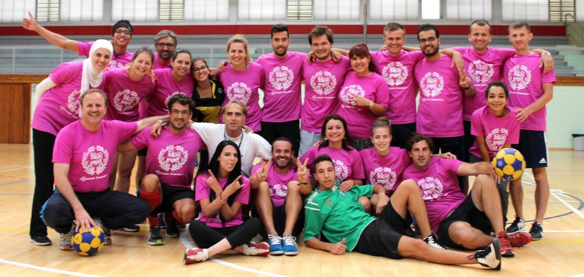 Szakkollégiumunk tagjai Spanyolországban