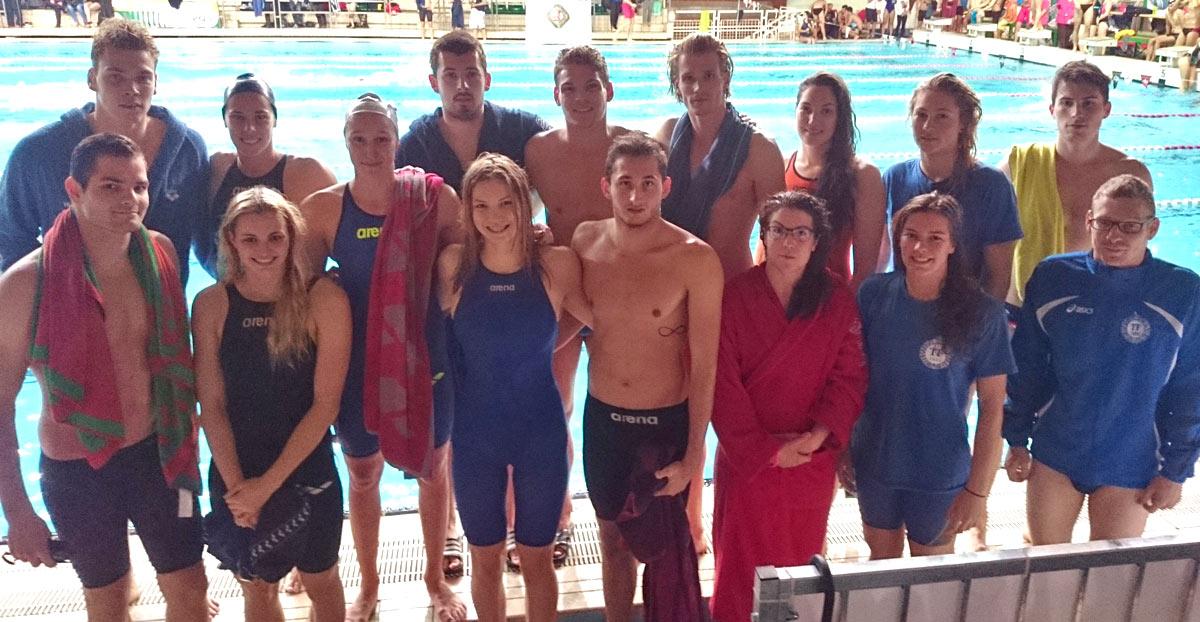 Taroltak a Testnevelési Egyetem úszói az egyetemi bajnokságon