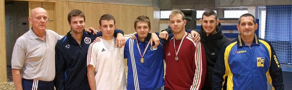 TFSE csapat (szabadfogású birkózás, U23 OB, 2011, Miskolc)