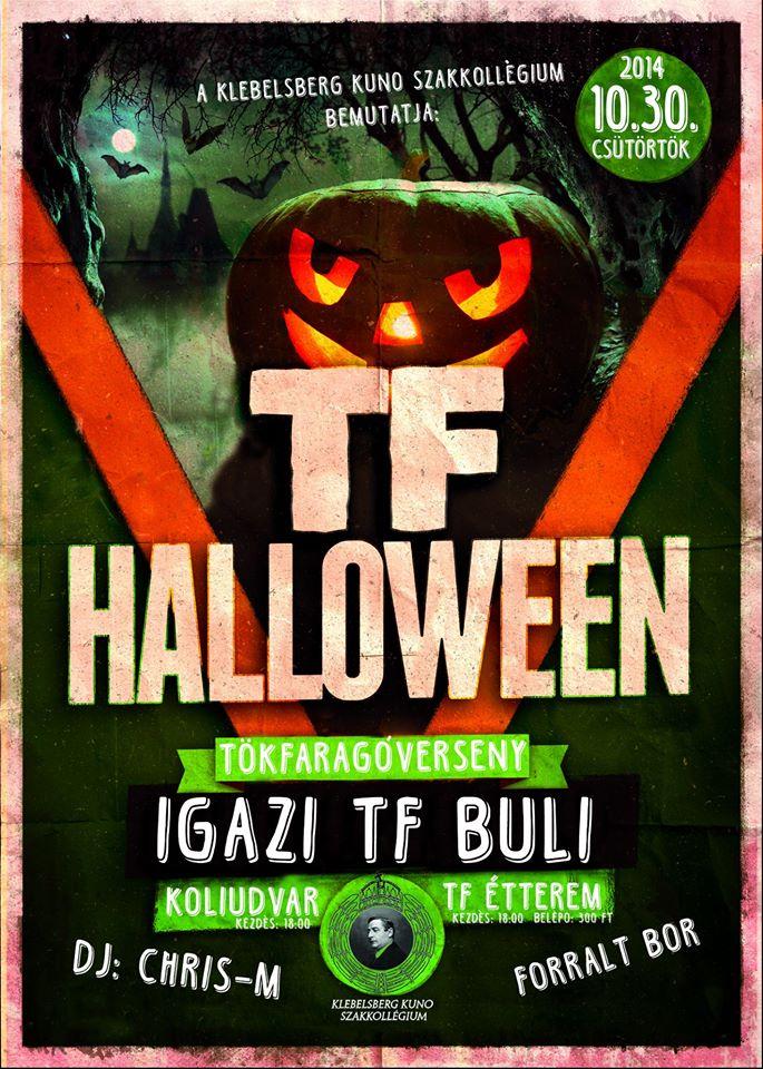TF Halloween (plakát)