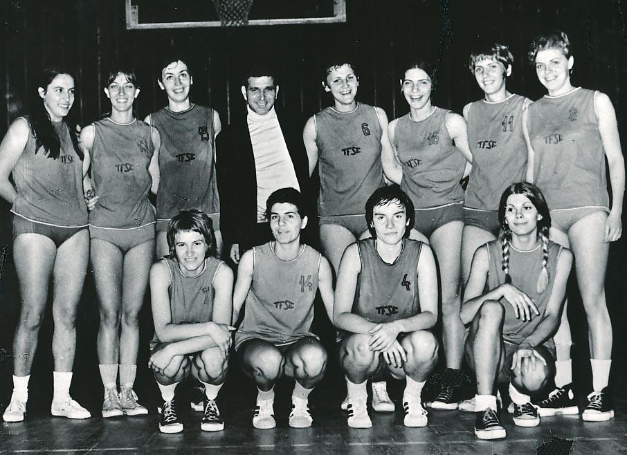 TFSE női kosárlabda csapata (1971)