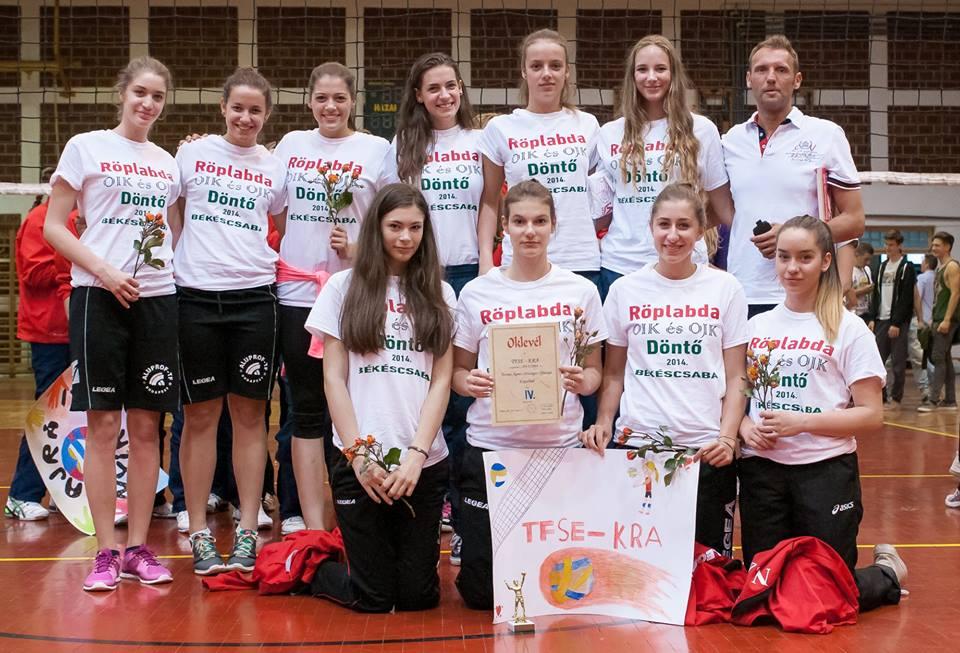 TFSE női röplabda sikerek (ifjúsági csapat)