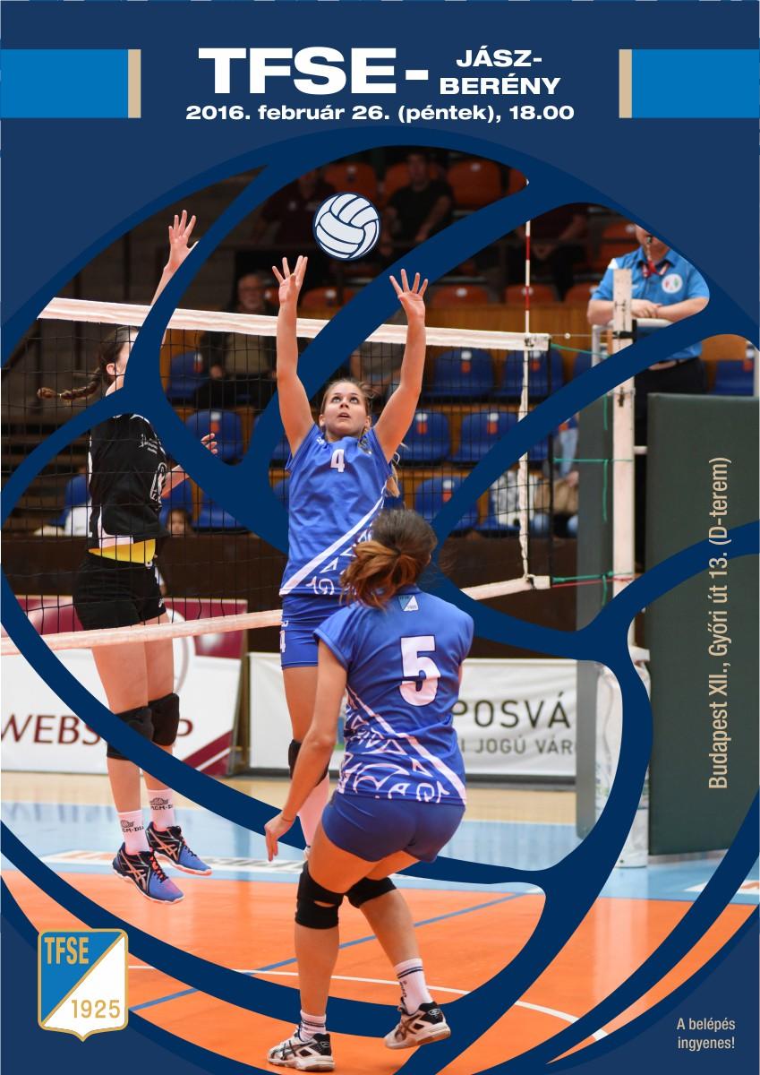 TFSE női röplabda meccs (plakát)
