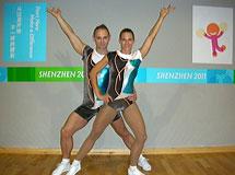 Universiade 2011, aerobik beszámoló - Sportaerobik vegyes páros