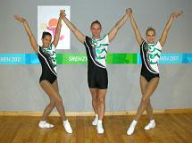 Universiade 2011, aerobik beszámoló - Sportaerobik trió