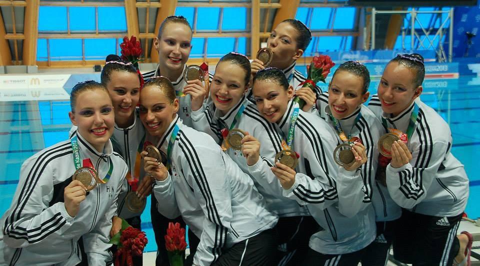Szinkronúszó siker az Universiade-n