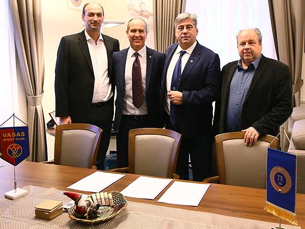 Vasas, TF, TFSE (megállapodás)