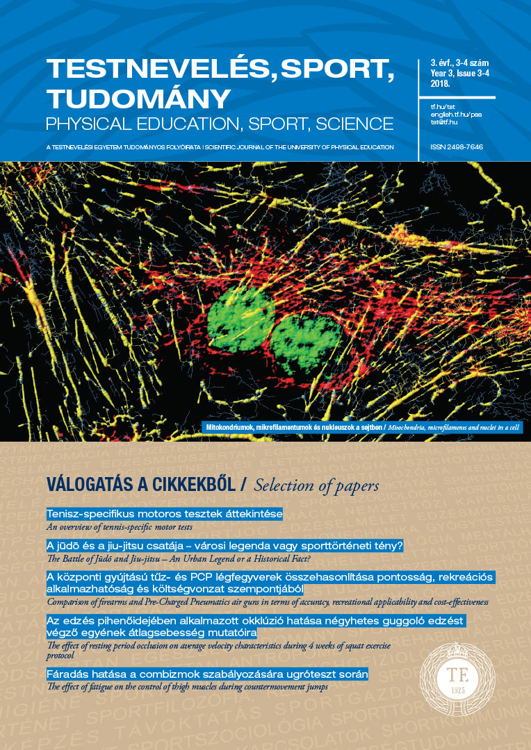 Physical Education, Sport, Science ( 2018/3-4)