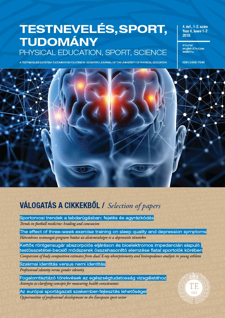 Physical Education, Sport, Science ( 2019/1-2)